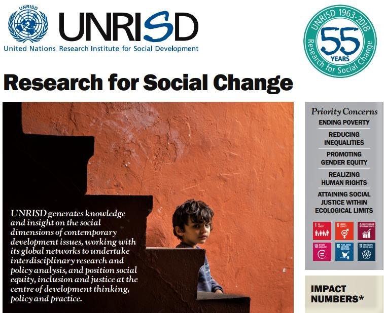 United Nations Research Institute for Social Development – UNRISD